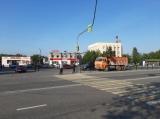 Новый светофор в городе Кола