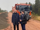 На участке региональной дороги Умба – Варзуга (км 114 - км 125) стартовали ремонтные работы